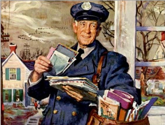 old mailman