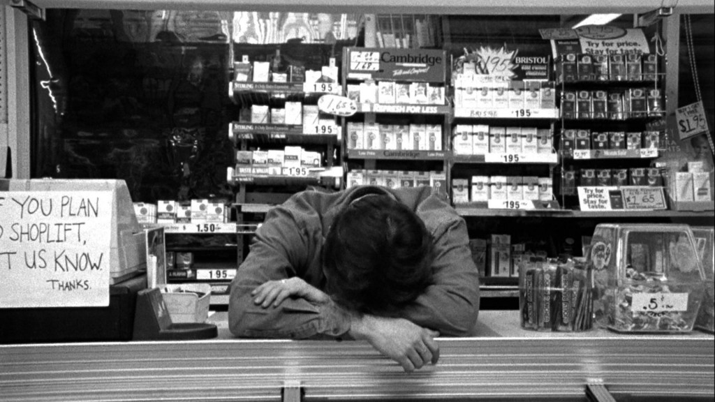 exhausted clerk