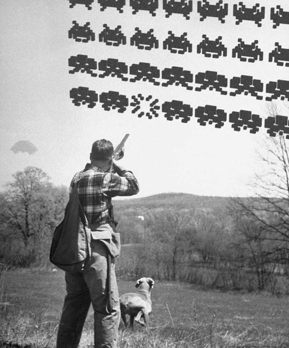 Hunting-Space-invaders