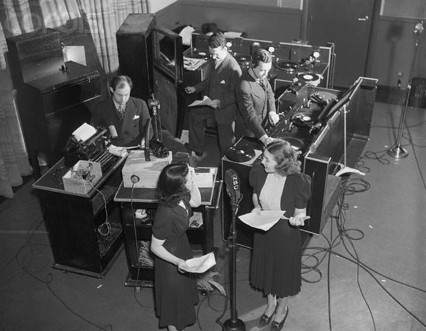 Sound Effects Studio At Nbc