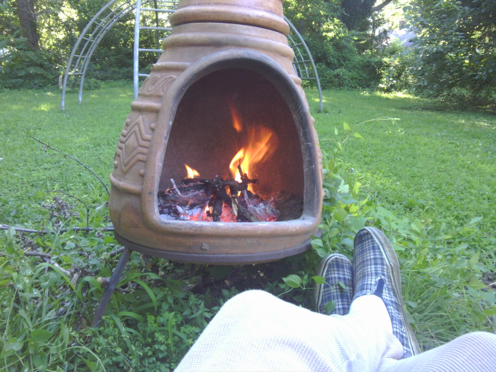 morning fire