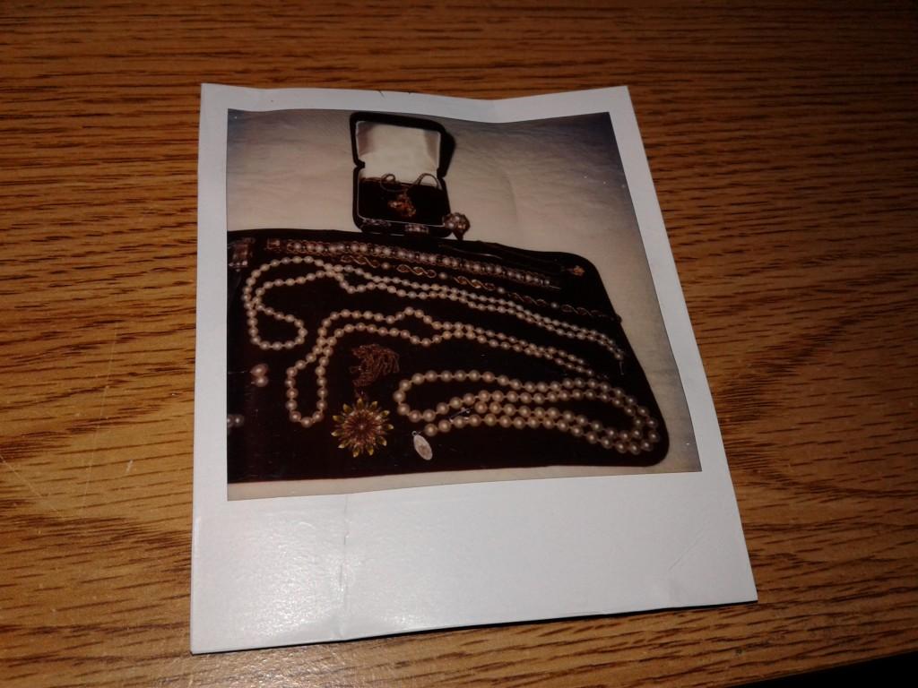 polaroid pearls